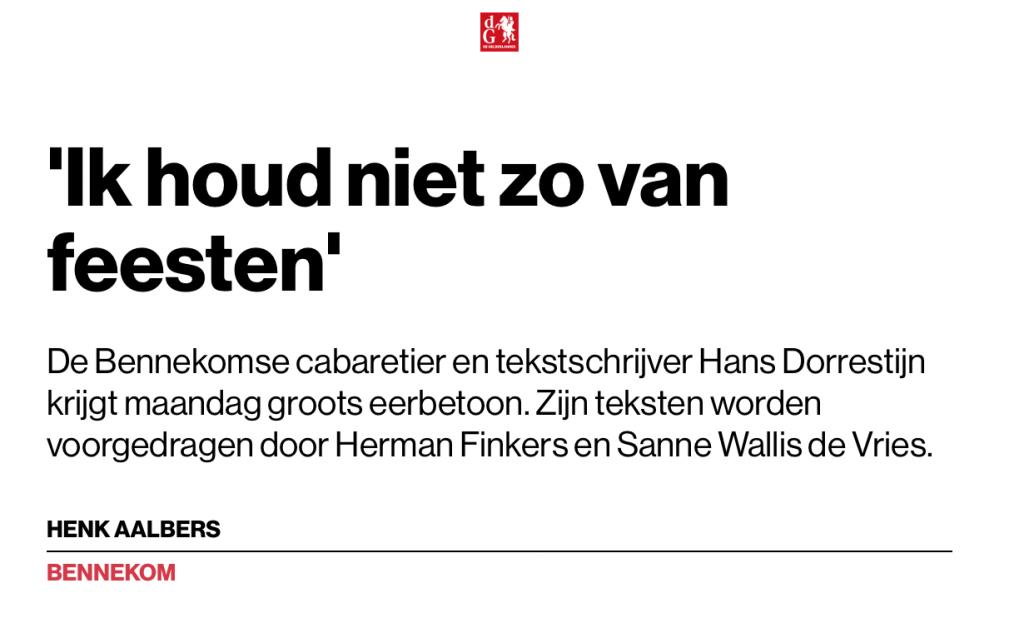 Gelderlander - 15 juni 2017 (1)