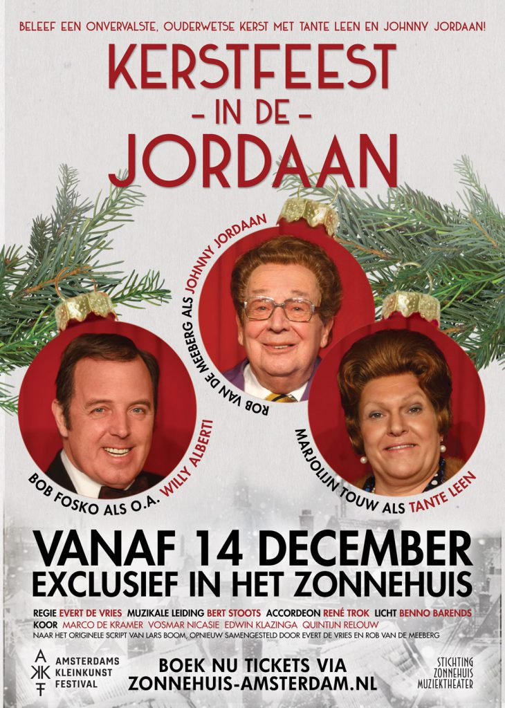 Kerstfeest in de Jordaan